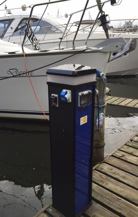 marina electrical outlet